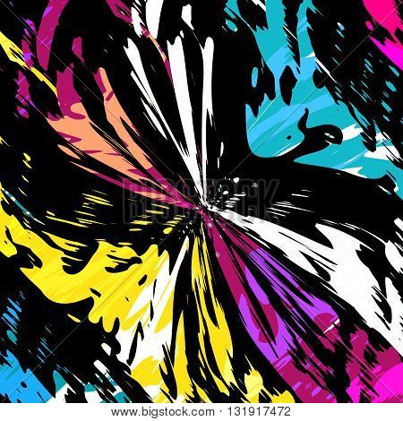 Beautiful spot graffiti vector illustration abstract high quality