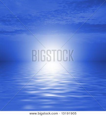 Mar cênica
