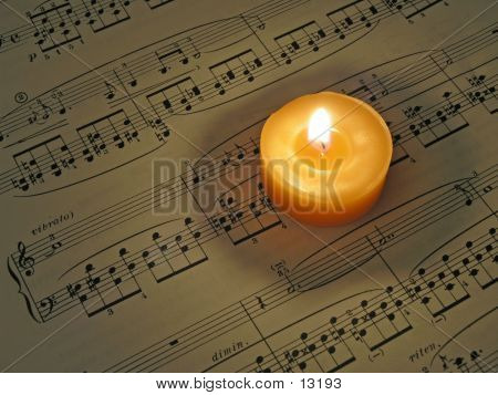 Music By Candlelight poster