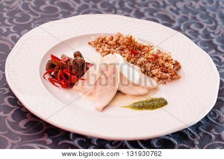 buckwheat with meat
