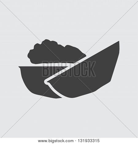 Walnut Icon Illustration