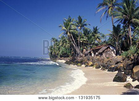 Sri Lanka Hikkaduwa Beach