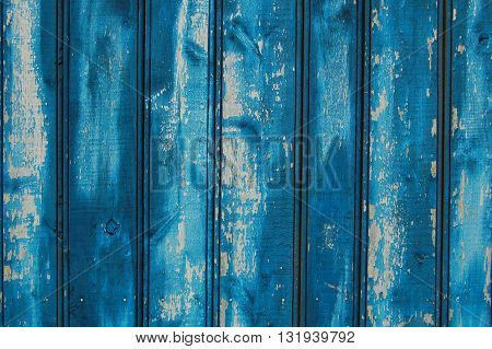 dark blue wooden planks, wooden background, old fence