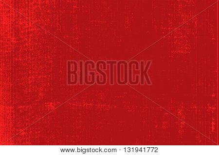 Grunge Distress Shabby Overlay Texture For Your Design. Epty red color design element background. EPS10 vector.