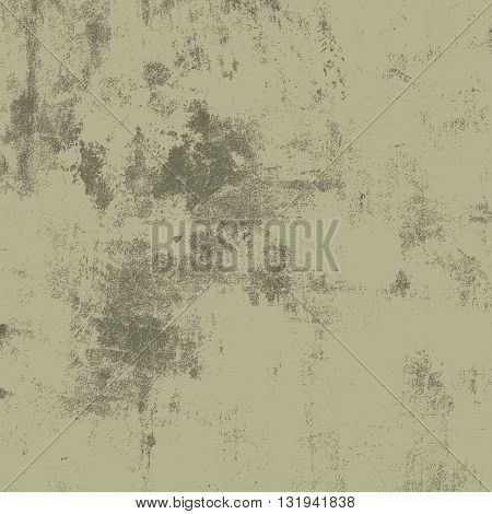 Dirty Scratched Overlay Texture For Your Design. Empty grunge Green color design element. EPS10 vector illustration.