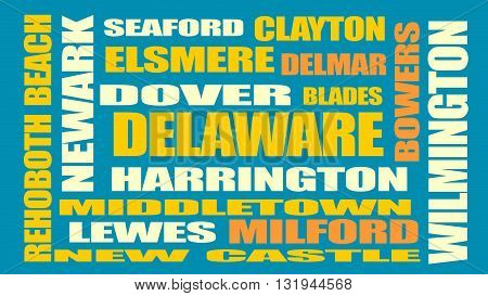 image relative to usa travel delaware state cities list