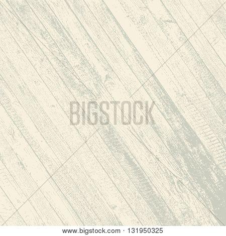 Distress wooden planks diagonal color texture. EPS10 vector.