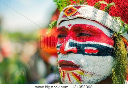 Look To Distance In Papua New Guinea