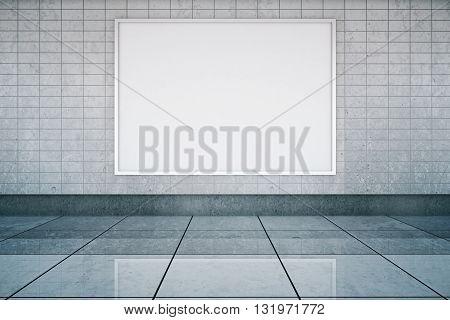 Blank Banner Metro