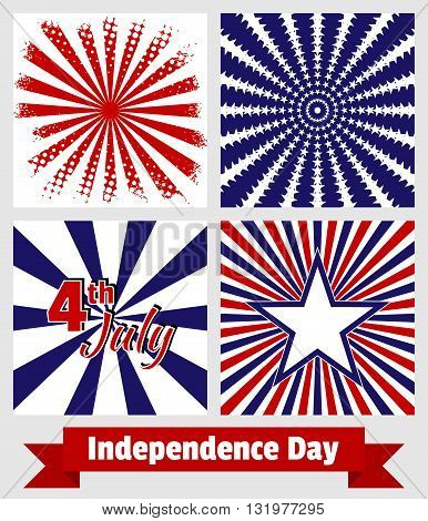 Set Backgrounds For The Us Independence Day