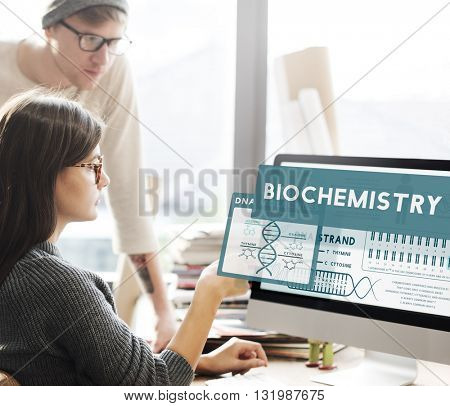 Biochemistry Research Science Concept
