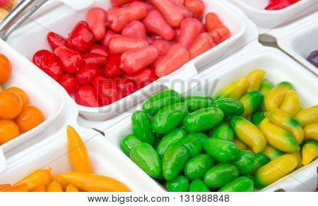 Colorful Look Shoop Dessert Thai Style