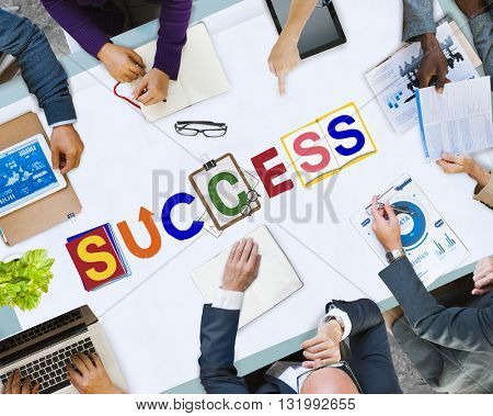 Success Achievement Improvement Progress Result Concept