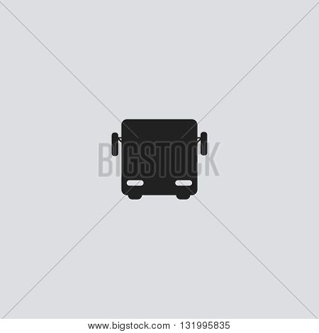 Bus icon vector. Bus logo. Bus sign. Bus icon UI. Bus icon web - stock vector.