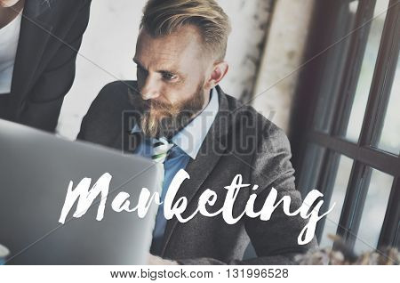Marketing Advertising Business Commercial Concept
