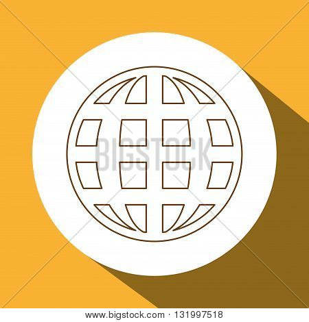 Planet concept with icon design, vector illustration 10 eps graphic