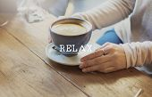 Relax Relaxation Rest Chill Peace Vacation Life Concept poster
