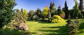 Beautiful Spring Garden Design poster