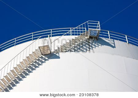 Stairs leading to the sky