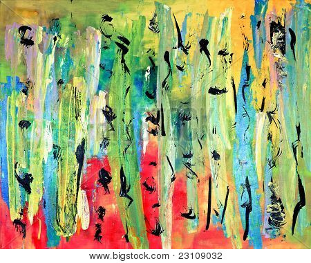 Colorful Abstract Fine Art