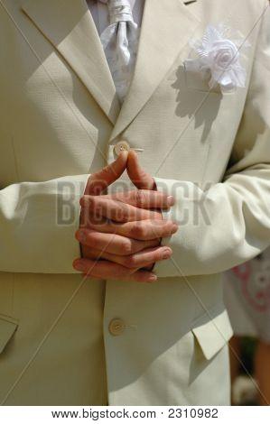 Bridegroom Hands