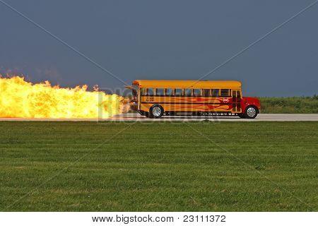 Jet School Bus