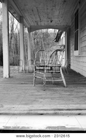 Old Chair and Porch
