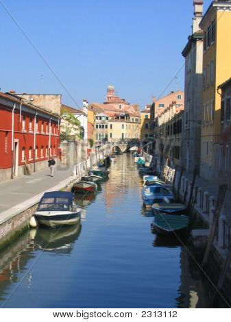 Canals In Romantic Venice