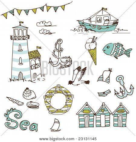Sea doodles