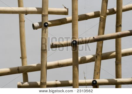 Bamboo Frame Background