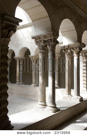 Medieval Architecture - Light And Shadow