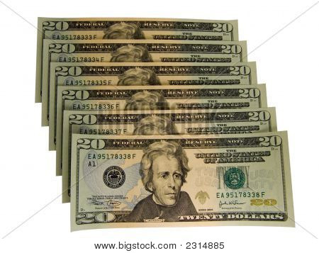 Uns 20 Dollar Bills