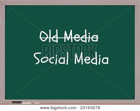Old Media Social Media