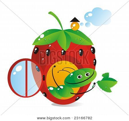 House-strawberry