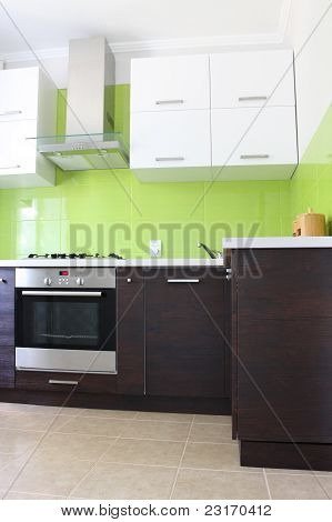 Domestic Kitchen interior