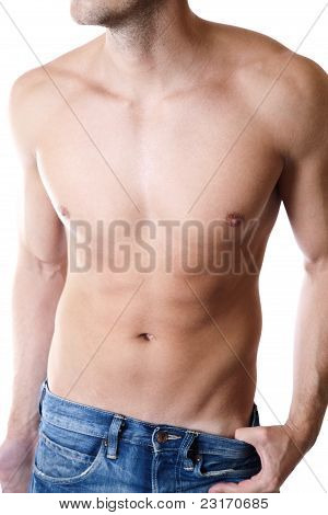 Defined Male Body