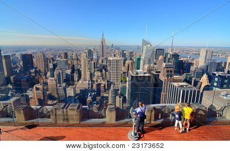 Manhattan Island Skyline