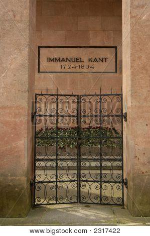 Kant`S Grave