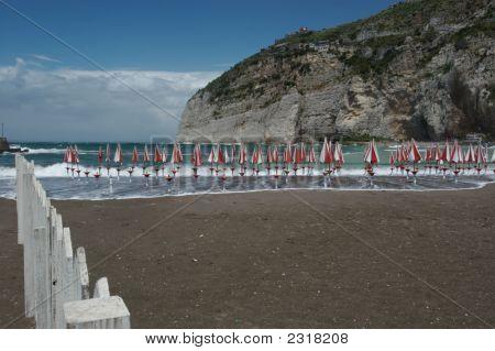 Beach Umbrellas, Italy
