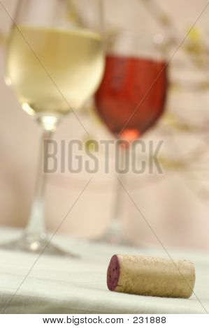 Cork And Glasses