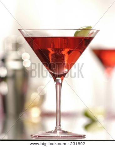Roter Martini