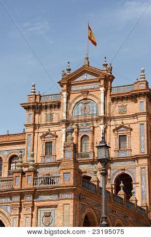 Palacio Espanol, Plaza De España em Sevilha