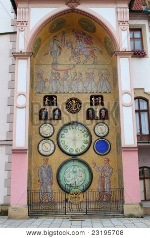 Astronomical clock of Olomouc