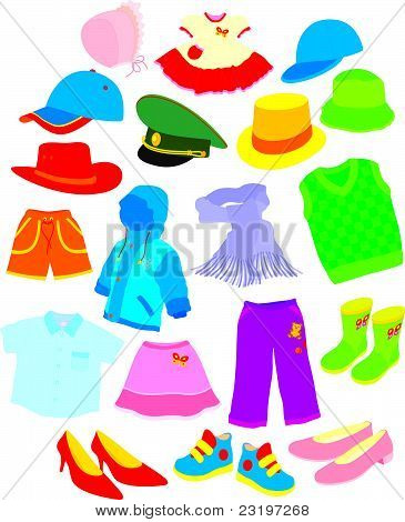 Footwear and clothes