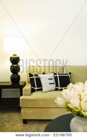 Contemporary Sofa Seating Area