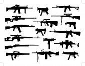 stock photo of uzi  - weapon collection - JPG