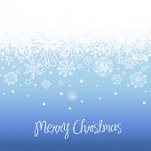 foto of christmas party  - Blue Christmas background with space for text - JPG