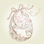 image of pasqua  - stylized easter egg - JPG