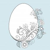 pic of pasqua  - stylized easter egg - JPG