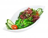 foto of chucky  - Salad from sea seaweed  - JPG